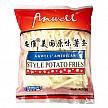 限PLUS会员:Anwell 安维 原味薯条400g*4件+乡村奶酪薯条 400g