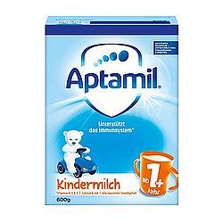 中亚Prime会员:Aptamil 爱他美 婴幼儿奶粉 1段+ 600g*5盒