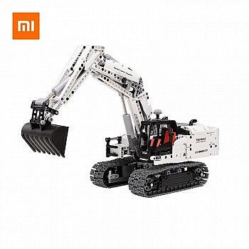 双11预告、新品上市: MI 小米 工程挖掘机 积木