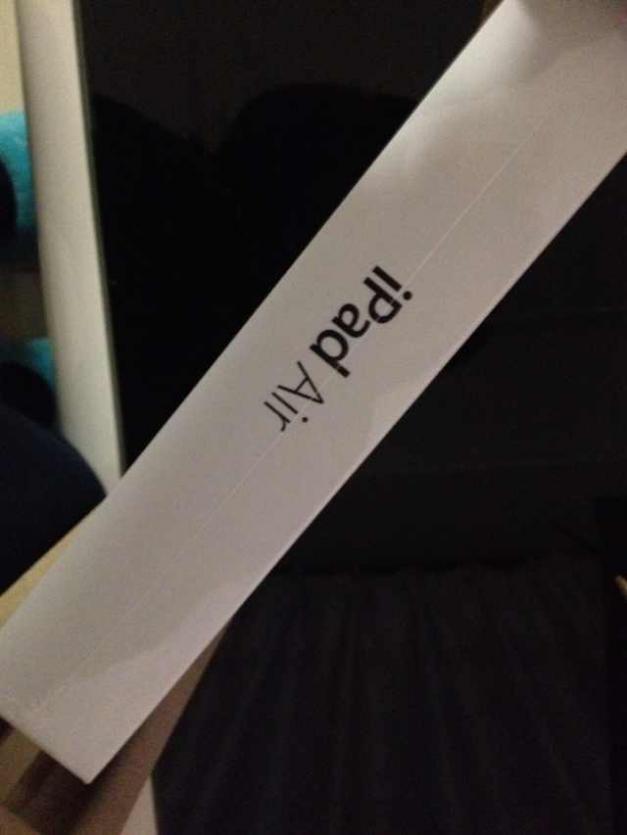 Apple 红色星期五买的iPad Air – 网友晒单 –