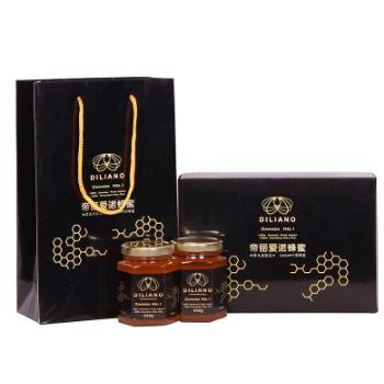 苏宁易购帝丽爱诺 四叶草蜂蜜 礼盒装 250g*2瓶