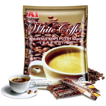 京东商城A1 马来西亚原味白咖啡15条600g