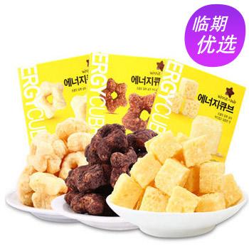 当当网商城韩国进口 Winnie Star唯你星 白巧克力方块酥奶香芝士味 35g*3盒