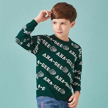 当当网商城Balabala 巴拉巴拉 男童针织衫 *3件