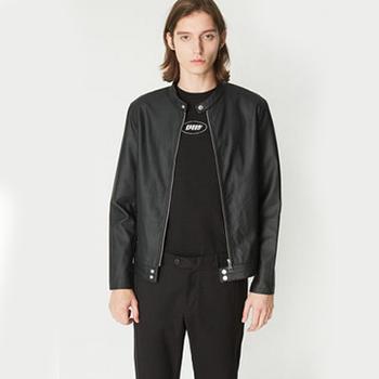 天猫双11预售:C&A 拉链立领PU皮衣帅气外套