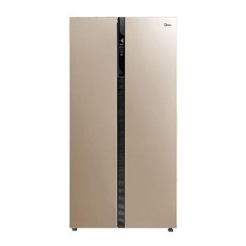 京东商城美的 对开门冰箱 芙蓉金 638L